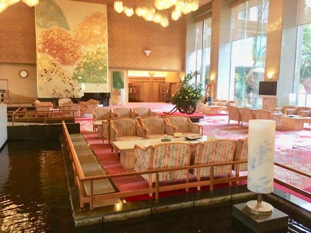 ホテル泉慶のロビー