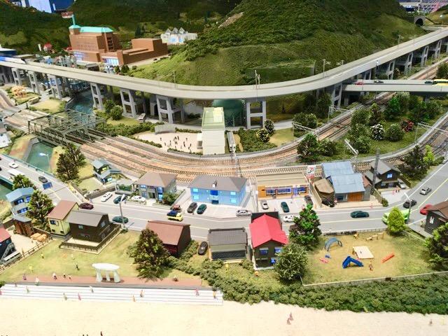 ジオパルの鉄道模型